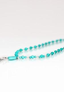 Turquoise Fashion ID Lanyard