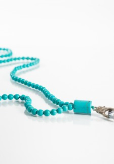 Turquoise Colored Executive ID Lanyard #2